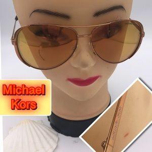 Michael Kor's Brand New Gold tone sunglasses